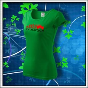 Evolution Off Road - dámske trávovozelené