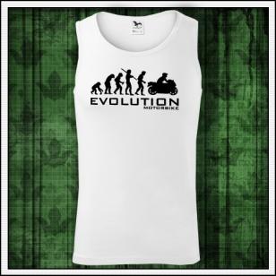 VÝPREDAJ !!! - 1 ks Evolution Motorbike - pánske tielko biele M