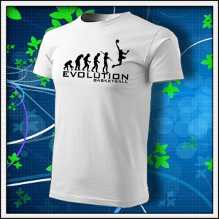 VÝPREDAJ !!! - 1 ks Evolution Basketball - biele L