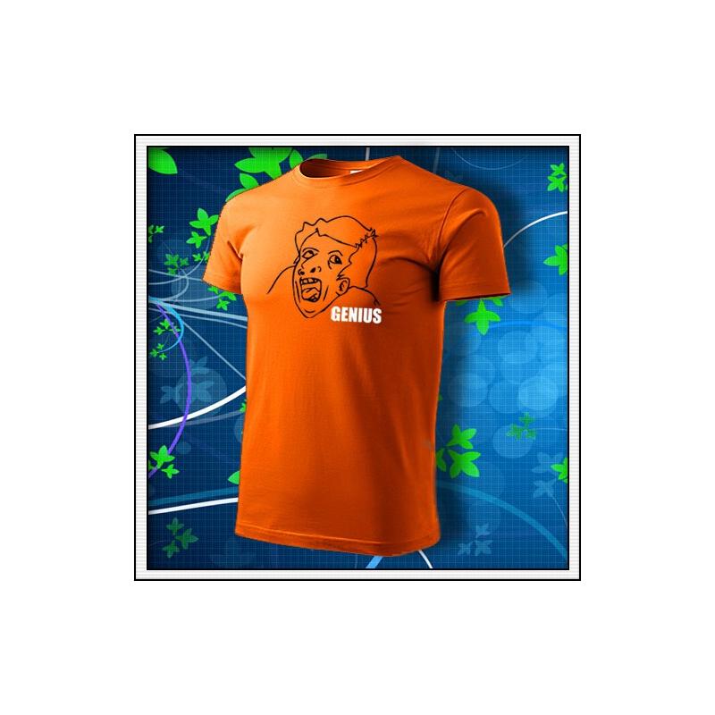 Meme Genius - oranžové