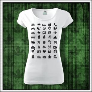turistické tričko, vtipné tričká, vtipné darčeky, cestovateľské tričko, vtipné turistické tričká dámske
