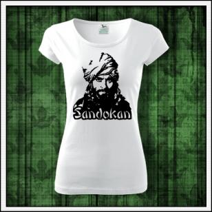 retro tričko sandokan, tričko so sandokanom, retro darček, retro darčeky