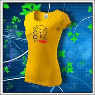Meme Genius - dámske žlté