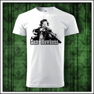 retro tričko sam hawkens, retro darček Sam Hawkens, tričko winnetou, tričko Shatterhand