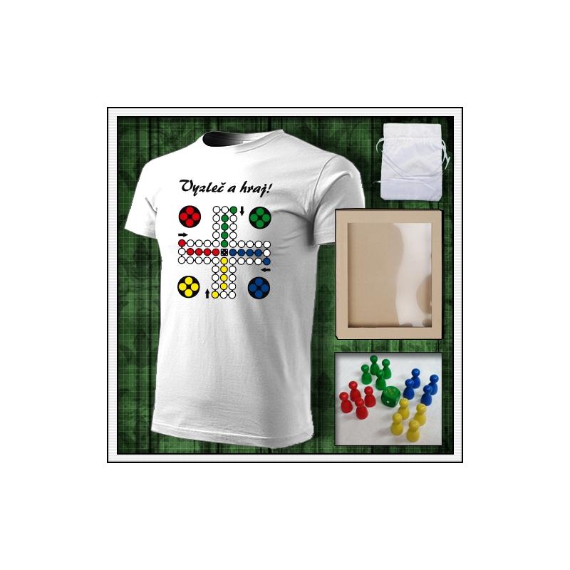 vtipné tričko s potlačou Človeče nehnevaj sa, vtipné darčeky, vtipné tričká, srandovné darčeky.