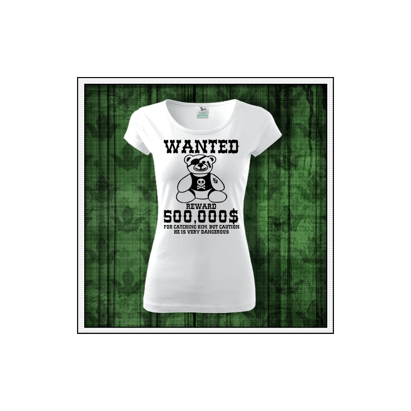 Vtipné tričko plyšový macko ako vtipný darček pre dospelých k narodeninám a sviatku