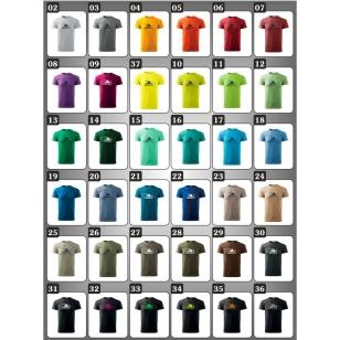 Originálne vtipné tričká Adidanic v 37 farebných prevedeniach ako žartovné tričká