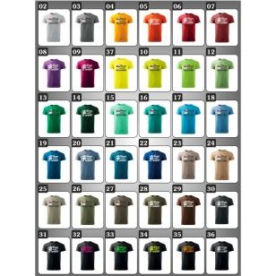 Vtipné tričká k narodeninám v 38 farebných prevedeniach ako vtipné darčeky