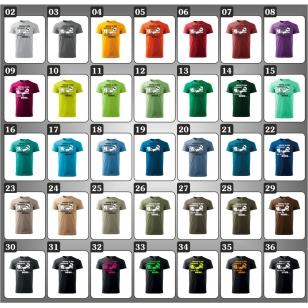 Originálne vtipné tričká Všetko je pod kontrolou vhodne ako darček k narodeninám