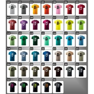 farebné tričko so sandokanon ako retro darček sandokan pre muža a ženu