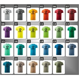 farebne retro trička Terence Hill, retro darčeky pre muža Bud Spencer