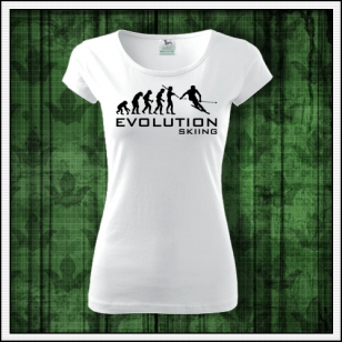 Dámske tričko pre lyžiarku Evolution Skiing