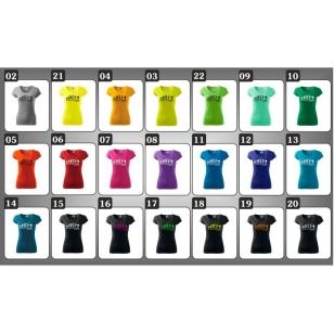 vtipné rockové farebné tričká evolution rocks