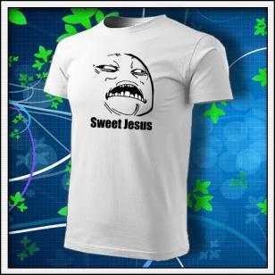 Meme Sweet Jesus - biele