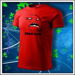 Meme Sweet Jesus - červené