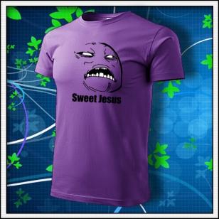 Meme Sweet Jesus - fialové
