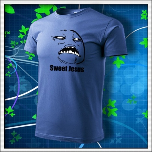 Meme Sweet Jesus - svetlomodré