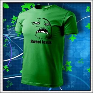 Meme Sweet Jesus - trávovozelené