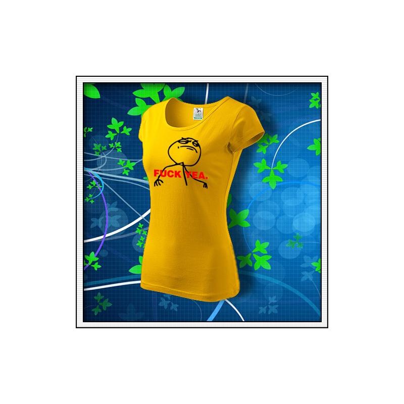 Meme F*CK YEA. - dámske žlté