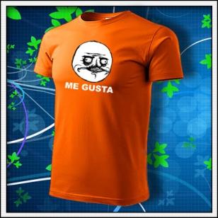 Meme Me Gusta - oranžové
