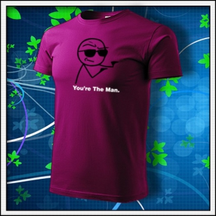 Meme You´re The Man - fuchsia red