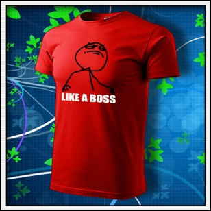 Meme Like a Boss - červené