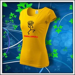 Meme Trolloroll - dámske žlté