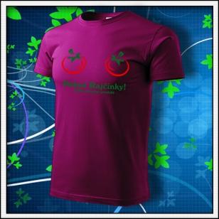 Pekné Rajčinky - fuchsia red