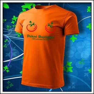 Pekné Rajčinky - oranžové