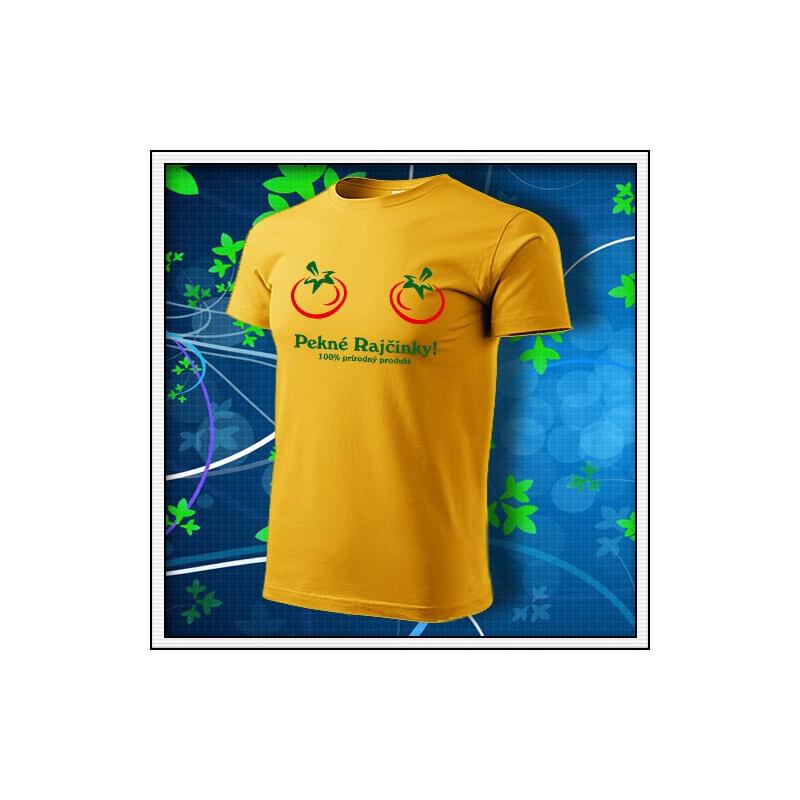 Pekné Rajčinky - žlté