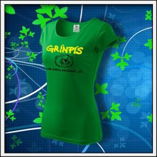 Grínpís - dámske trávovozelené