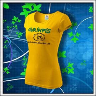 Grínpís - dámske žlté