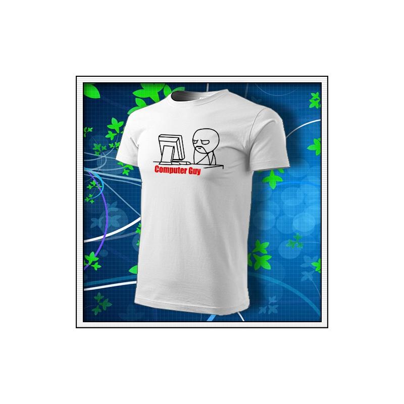 Meme Computer Guy - biele