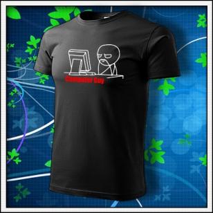 Meme Computer Guy - čierne