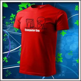 Meme Computer Guy - červené