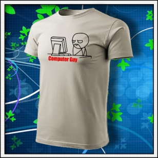 Meme Computer Guy - ľadovosivé