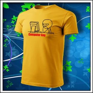 Meme Computer Guy - žlté