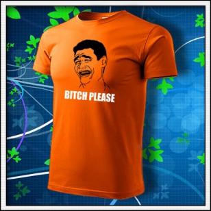 Meme Bitch Please - oranžové