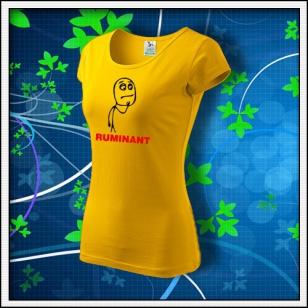 Meme Ruminant - dámske žlté