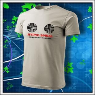 Hypno Spiral - ľadovosivé