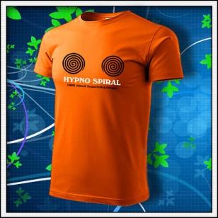 Hypno Spiral - oranžové