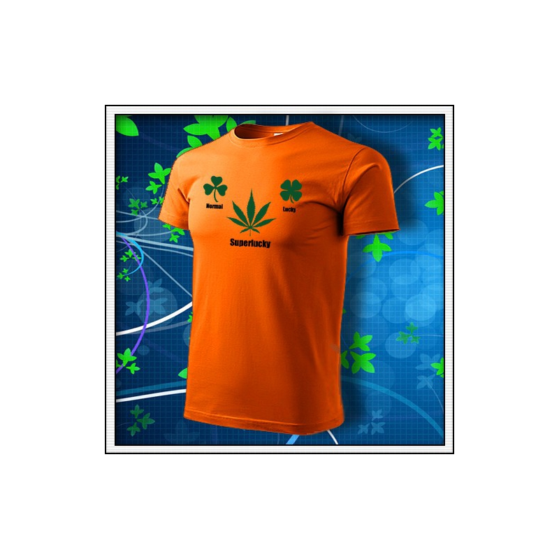 Superlucky - oranžové
