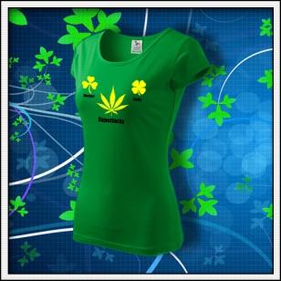 Superlucky - dámske trávovozelené