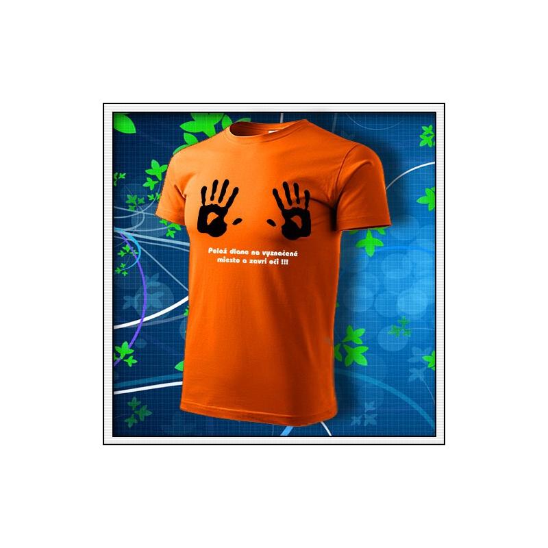 Dlane - oranžové