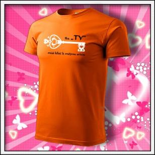 Iba TY - oranžové