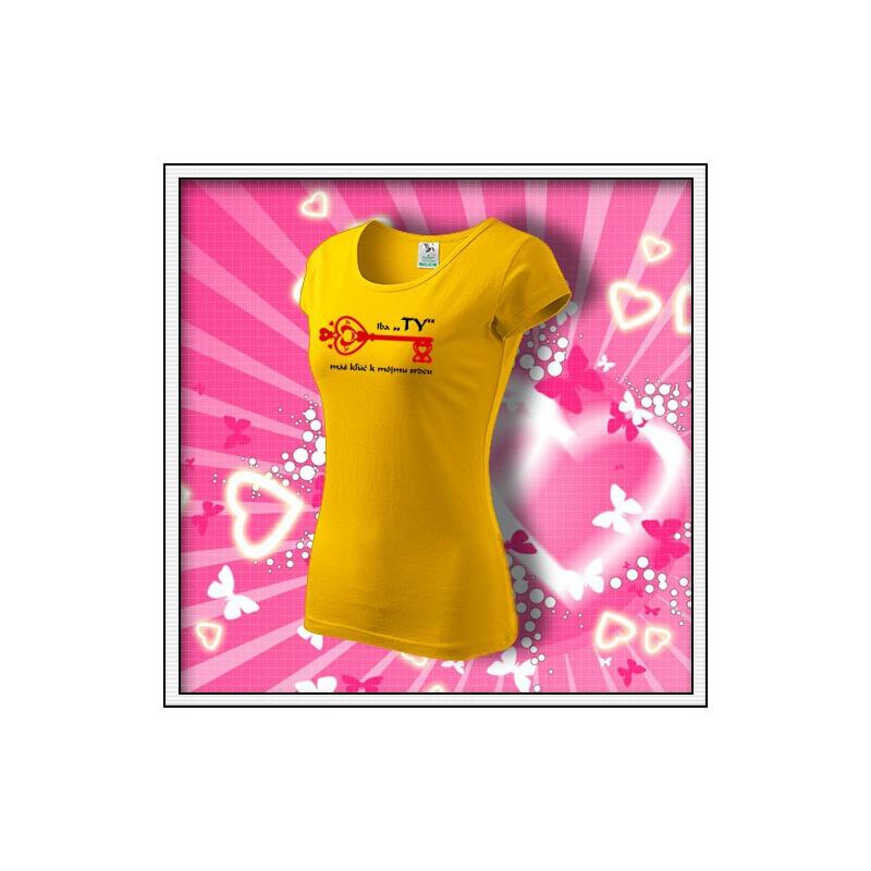 Iba TY - dámske žlté