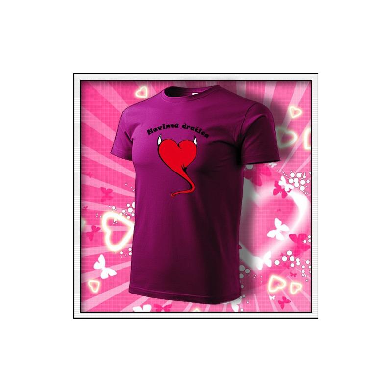 Nevinná dračica - fuchsia red