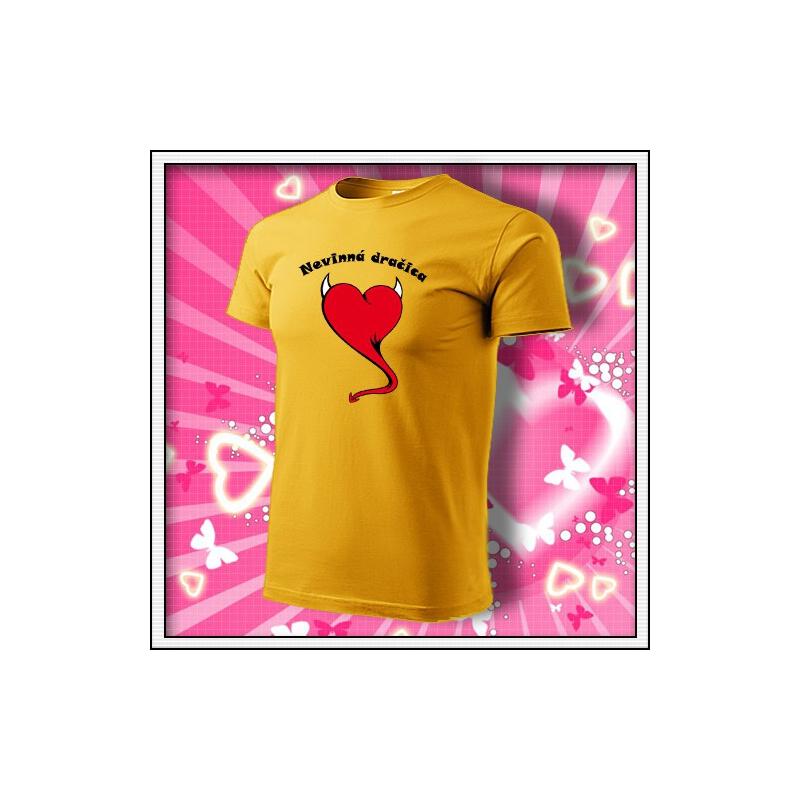 Nevinná dračica - žlté