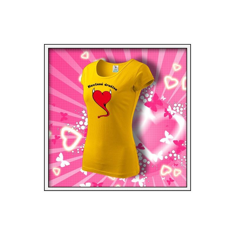 Nevinná dračica - dámske žlté