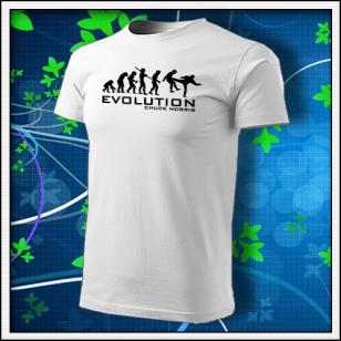 Evolution Chuck Norris - biela
